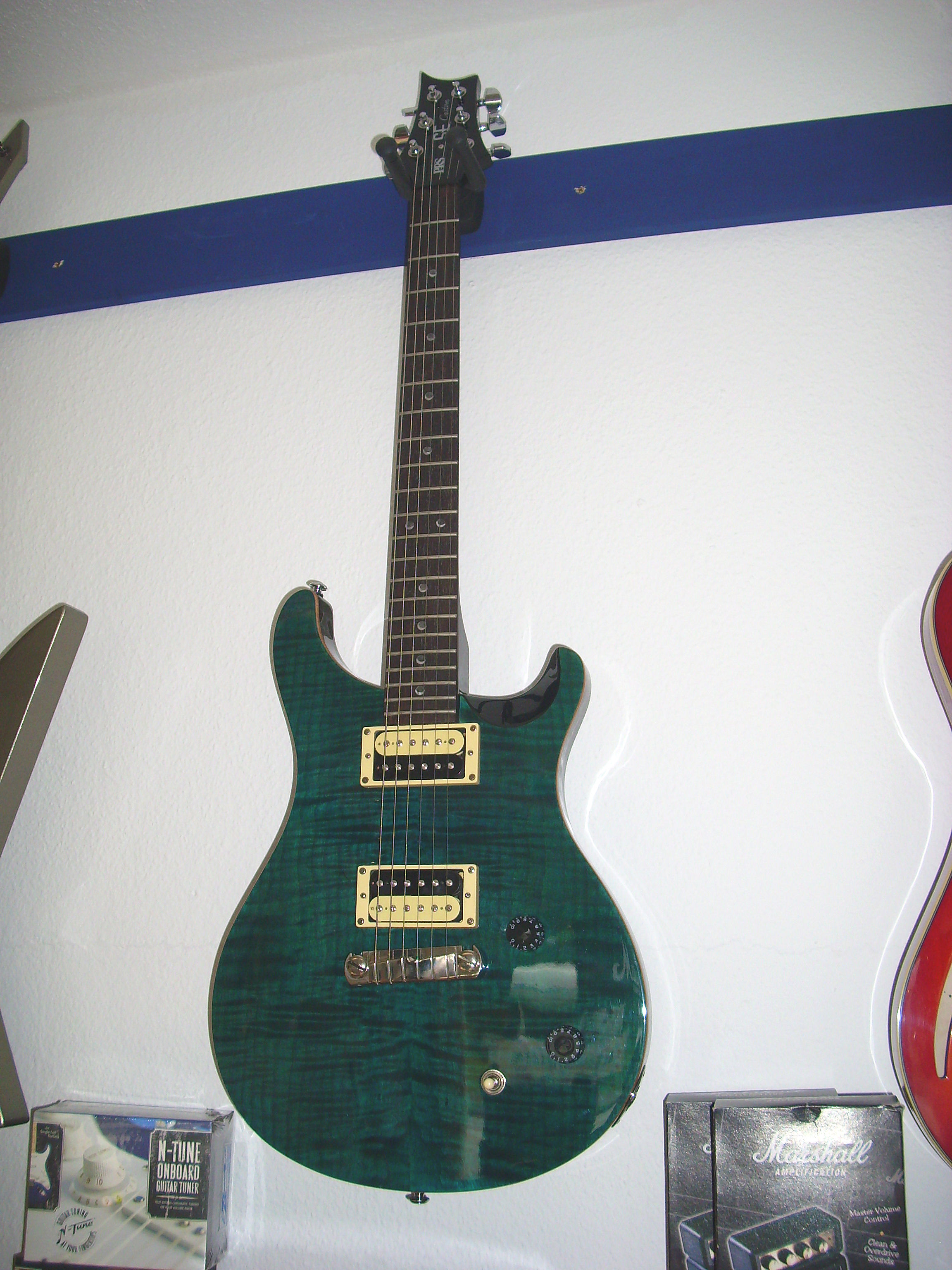 PRS Custom green seethrought 2