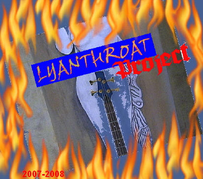Lycanthroat Project on fire Logo